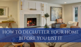 How to Declutter Your Home Before You List It | www.tonybutz.com