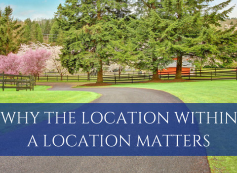 Why the Location within a Location Matters | www.tonybutz.com